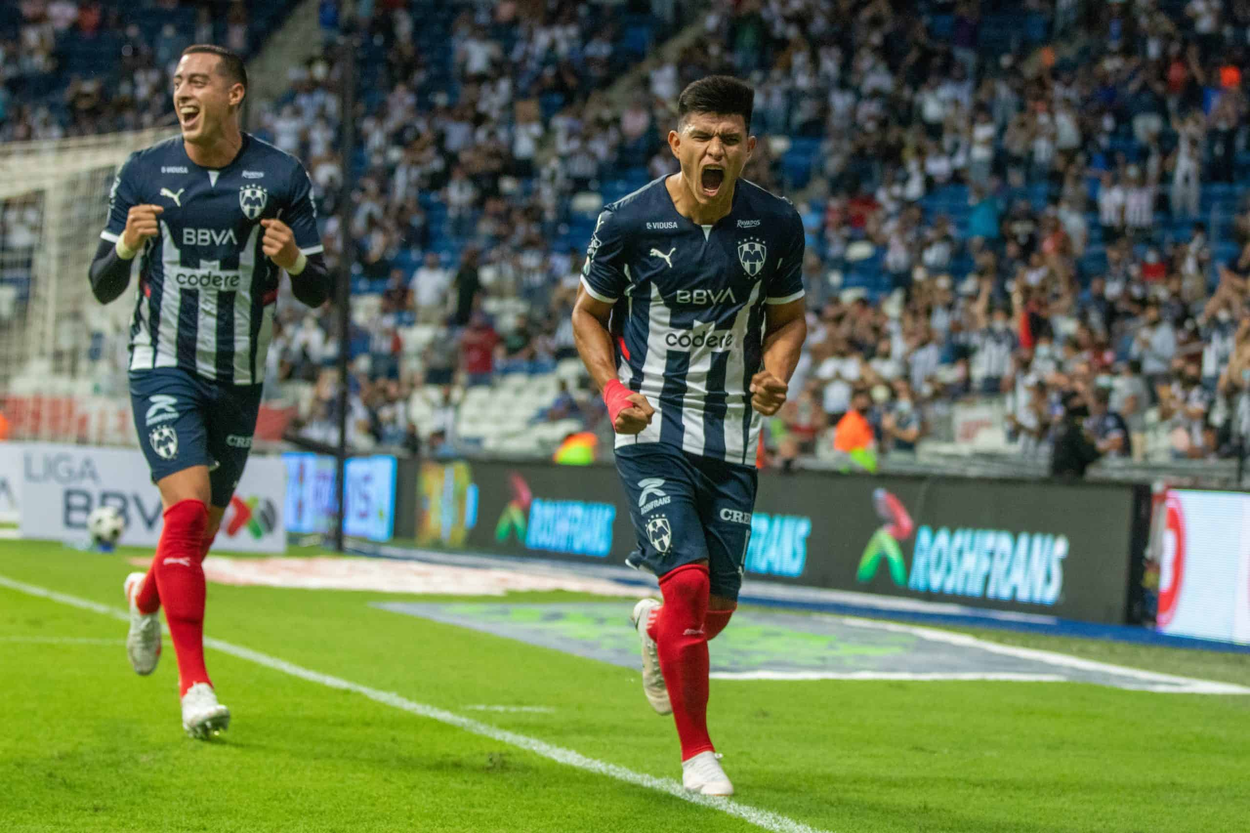 Rayados intratable, venció 2-0 a Toluca