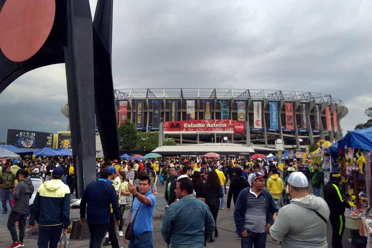 Autorizan 75% de aforo en el Estadio Azteca para el Clásico América vs. Chivas