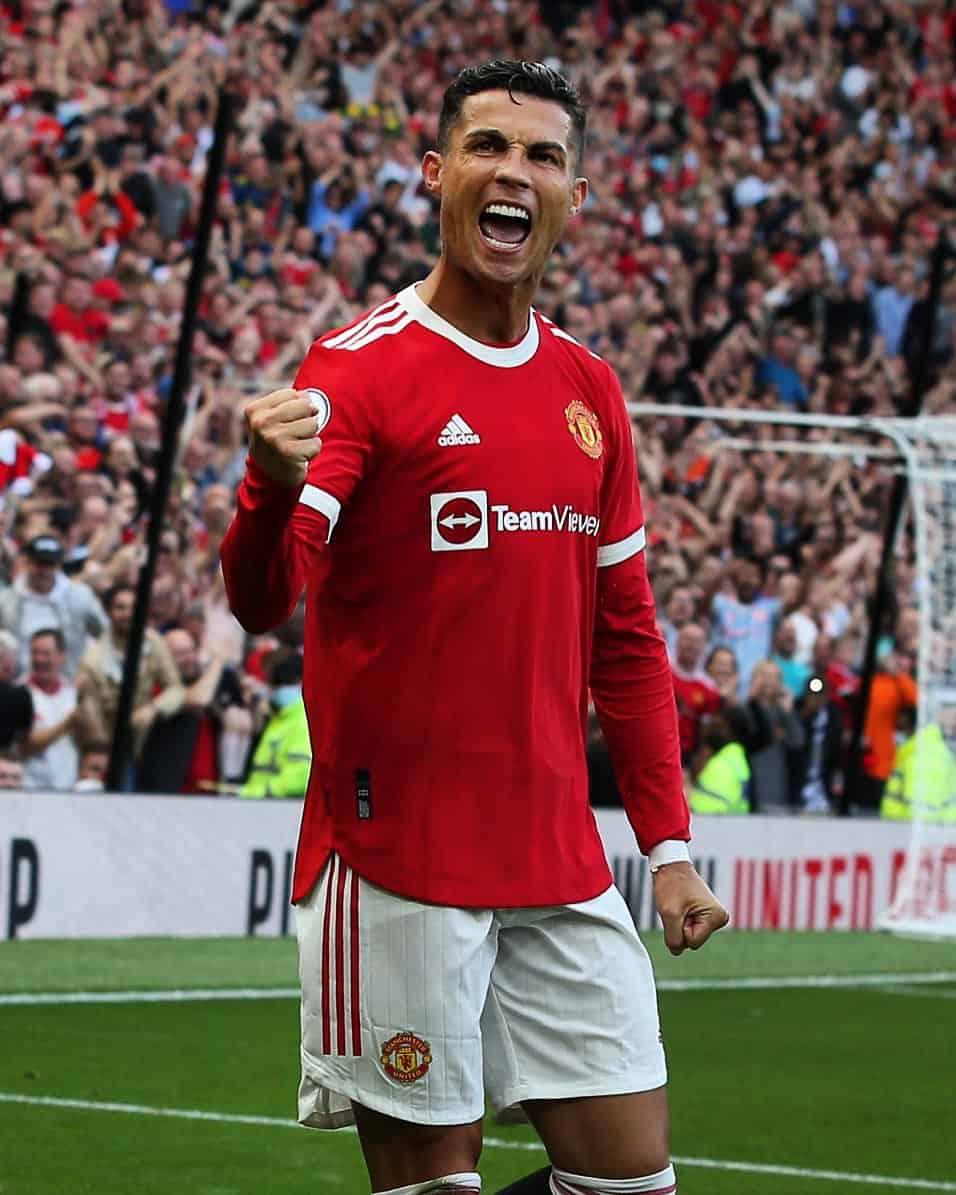 Cristiano Ronaldo aspira al título de máximo goleador de Manchester United