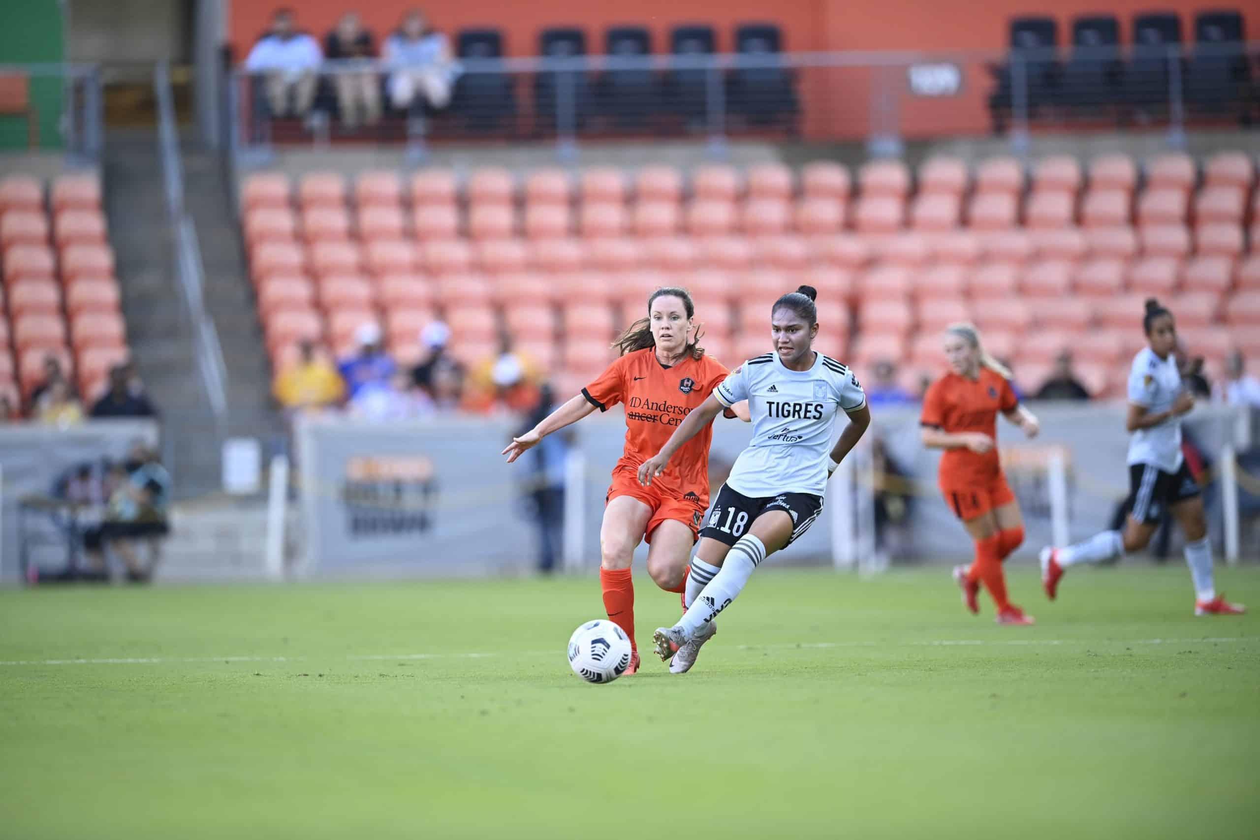 Golean 5-1 a Tigres Femenil ante el Houston Dash