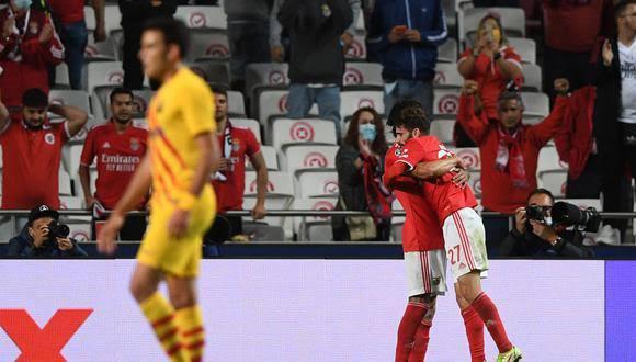 No Messi, no party… el Barcelona cae contundentemente ante el Benfica