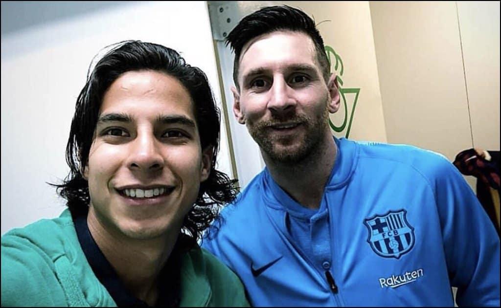 La Volpe asegura que Lainez y Messi son el mismo jugador
