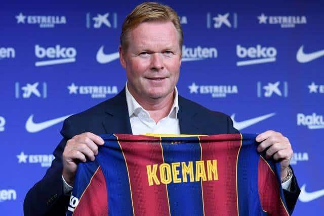 Barcelona destituye a Koeman como DT